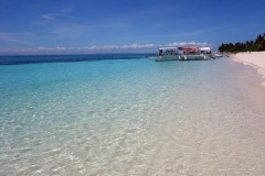 Stranden på Kalanggaman island.