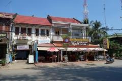 Happy Special Pizza i centrala Kampot. Med eller utan extra lycka.