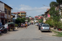 Gatuscen i centrala Kampot.