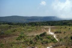På toppen av Bokor Mountain, Preah Monivong Bokor National Park, Kampot province.