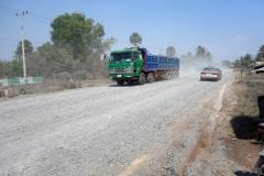 Längs väg 3 på väg tillbaka till Kampot.