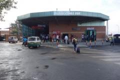 Inrikesterminalen på Tribhuvan airport, Katmandu.