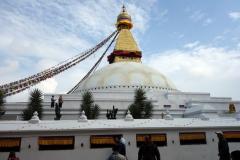 Boudhanath stupa, Katmandu.