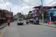 Promenaden genom östra delarna av Katmandu från Boudhanath stupa till Pashupatinath.