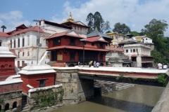 Pashupatinath tempelkomplex, Katmandu.