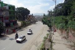 Promenaden genom östra delarna av Katmandu från Pashupatinath tillbaka till Thamel.