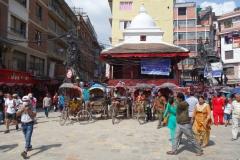 Torget Indra Chowk, Katmandu.