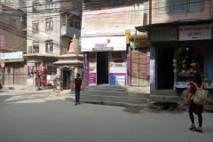 På väg till Swayambhunath-templet passerade jag Ncell-butiken där jag köpte mitt nepalesiska SIM-kort, Katmandu.