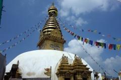 Swayambhunath stupa, Katmandu.
