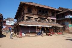 Arkitekturen vid Dattatraya Tol, Bhaktapur.