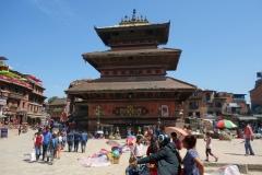 Bhairabnath-templet, Taumadhi Tol, Bhaktapur.
