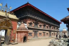 Golden Gate och 55 Windowed Palace, Durbar Square, Bhaktapur.