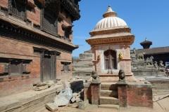 Tempel på Durbar Square, Bhaktapur.