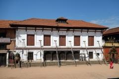 Kungliga palatset, Durbar Square, Bhaktapur.