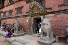 Golden Gate & Museum, Durbar Square, Patan.