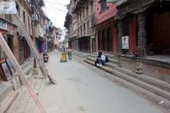 Gatuscen i centrala Patan.