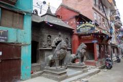 Entrén till Golden temple, Patan.