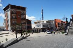 Den modernare delen av Kruja.