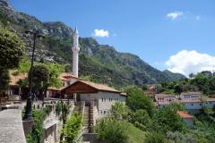 Utsikt över den gamla delen av Kruja.