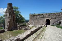 Entrén till Skanderbegs slott, Kruja.