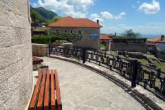 Terrassen till historiska museet, Kruja.