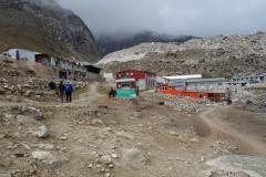 Framme vid Loboche på 4910 meters höjd.