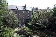 Utsikten från mitt rum i Notting Hill.