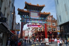 Chinatown Gate, Wardour Street, Chinatown.
