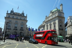 Piccadilly Circus, West End.