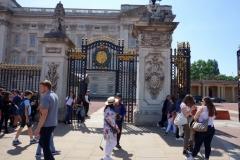 Entré till Buckingham Palace.