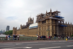 Palace of Westminster under renovering, Westminster.
