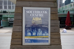 "Abba-utställningen ""Super Troupers"", Southbank Centre, South Bank."