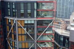 Bostadshus som ligger granne med Tate Modern.