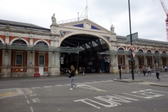 Smithfield market, City of London.