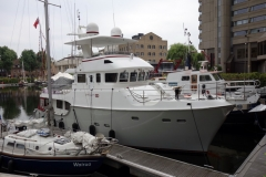 St Katharine Docks Marina, Wapping.