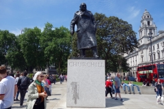 Statue of Winston Churchill, Westminster.