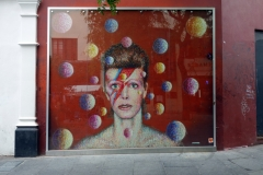 David Bowie Memorial, Brixton.