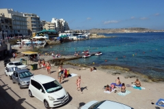Buġibba Perched Beach.