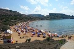 Għajn Tuffieħa Bay Beach.