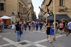 Republic St, Valletta.