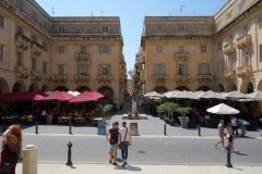 St John's Square, Valletta.