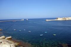 Inloppet till Grand Harbour, Valletta.