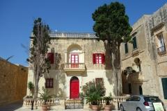 Byggnad vid Bastion Square, Mdina.