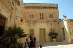 Den vackra arkitekturen i Mdina.