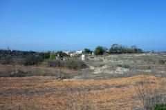 Baħrija, starten på min vandring till Fomm ir-Riħ Bay.