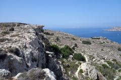 Vandringen till Gnejna Bay.