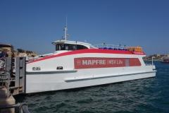 Färjan som går mellan Valletta och Vittoriosa.