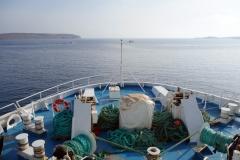 Färjan till Gozo.