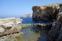 Blue Hole, Dwejra, Gozo.