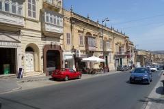 Gatuscen i centrala Victoria, Gozo.